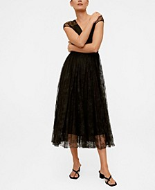 Women's Lace Midi Dress