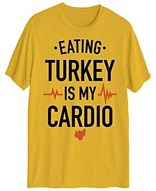 Men's Eating Turkey is My Cardio Short Sleeve T-shirt