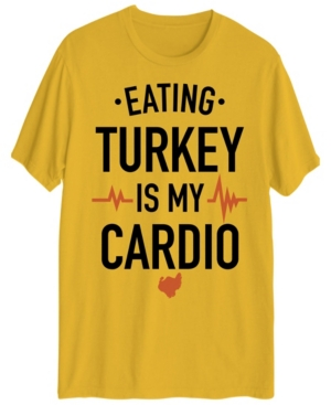 Men's Eating Turkey is My Cardio Short Sleeve T-shirt