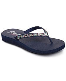 Women's Cali Meditation - Perfect 10 Flip-Flop Thong Sandals from Finish Line
