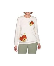 Women's Misses Pumpkin Top