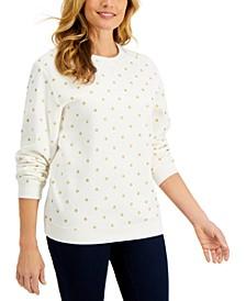 Fancy Dot Sweatshirt, Created for Macy's