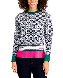 Fair Isle Sweater, Created for Macy's