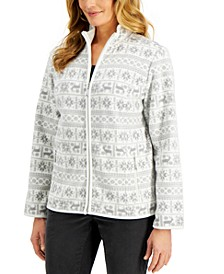 Fair Isle Jacket, Created for Macy's