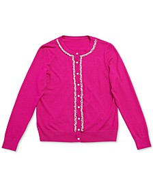 Petite Embellished Cardigan, Created for Macy's