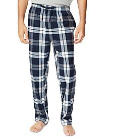 Men's Plaid Fleece Sleep Pants