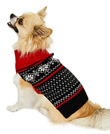 Snowflake Pet Sweater, Created for Macy's