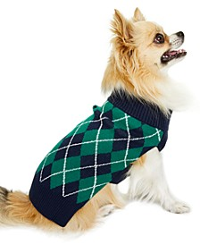 Argyle Pet Sweater, Created for Macy's