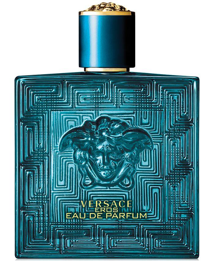 Versace - Men's Eros Eau de Parfum Spray, 3.4-oz.