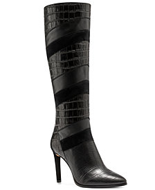 Vince Camuto Women's Saraalan Patchwork Boots