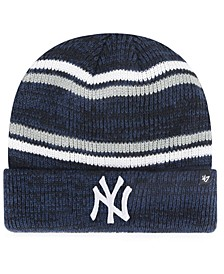 New York Yankees Marled Stripe Cuff Knit