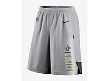 Men's New Orleans Saints Breathe Knit Player Shorts