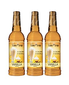 Vanilla Syrup, 5.25 lbs, Pack of 3