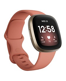 Versa 3 Pink Clay Strap Smart Watch 39mm
