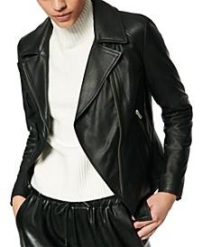 Bayside Leather Moto Jacket