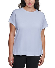 Plus-Size Cotton T-Shirt