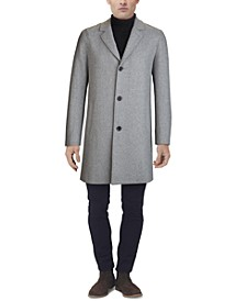 Men's Melton Classic-Fit Topcoat