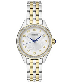 Women's Two-Tone Stainless Steel Bracelet Watch 29mm