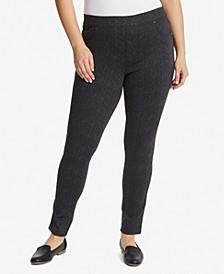 Women's Plus Size Avery Pull on Slim Short Pant