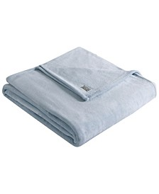 Solid Ultra Soft Plush Twin Blanket