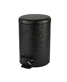 Speckled Design 3 Litter Step Bin with Lid Trash Can