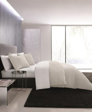 Vera Wang Waffle Pique King Duvet Cover Set Bedding In Light Beige