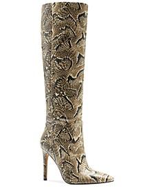 Women's Fendels Wide-Calf Stiletto Boots