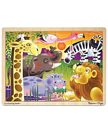 Kids Toy, African Plains 24-Piece Jigsaw Puzzle
