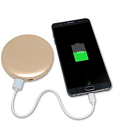 Pearl 3000 Mah Led Ring Compact Mirror and USB Battery