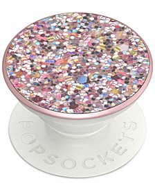 Sparkle Rosebud Cell Phone Pop Grip
