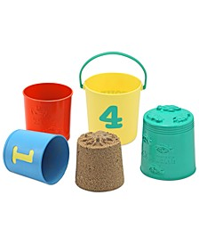 Kids Toy, Seaside Sidekicks Nesting Pails