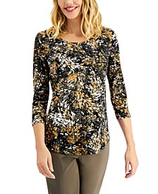 Printed Top, Created for Macy's