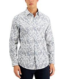 Men's Cosimo Paisley Shirt, Created for Macy's