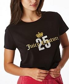 Women's Rhinestone Crown T-Shirt