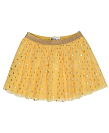 Toddler Dot Mesh Skirt