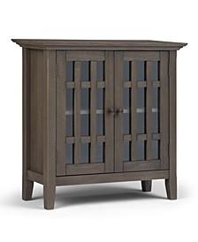 Bedford Solid Wood Low Storage Media Cabinet