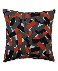 "Halloween Tabs Throw Pillow, 18"" L x 18"" W"