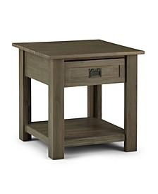 Monroe Solid Acacia Wood End Table