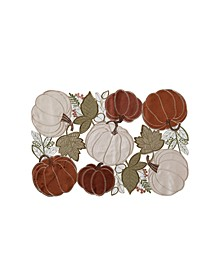 Pumpkin Bunch Cutwork Placemat
