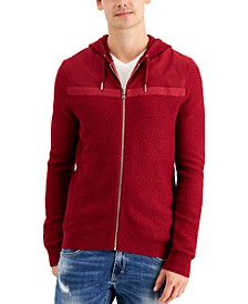 INC Men's Textured Hoodie, Created for Macy's