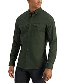 Double Breast Pocket Button Up Shirt