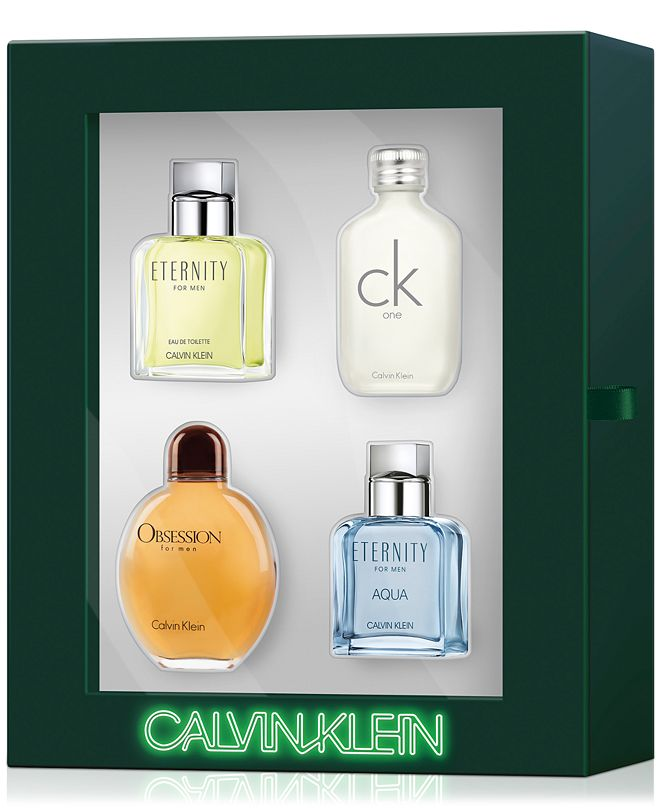 Calvin Klein Men's 4-Pc. Classics Gift Set