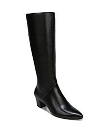 Melanie Wide Calf High Shaft Boots