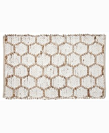 """Beehive Modern Accent 24"""" x 36"""" Rug"""