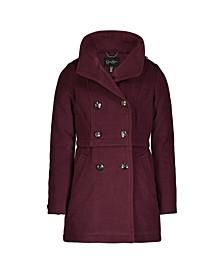 Big Girls Faux Wool Coat