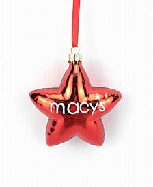 Thanksgiving Day Parade Glass Star Ornament, Created for Macy's