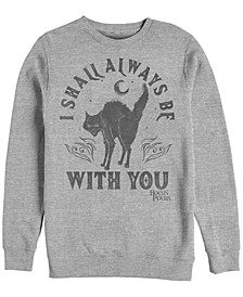 Hocus Pocus Spirit Animal Men's Long Sleeve Fleece Crew Neck Sweater