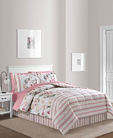 Irene 8-Pc. Reversible Queen Comforter Set