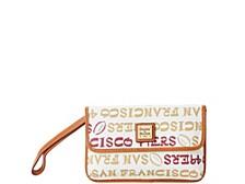 San Francisco 49ers Doodle Milly Wristlet