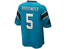 Men's Carolina Panthers Game Jersey Teddy Bridgewater